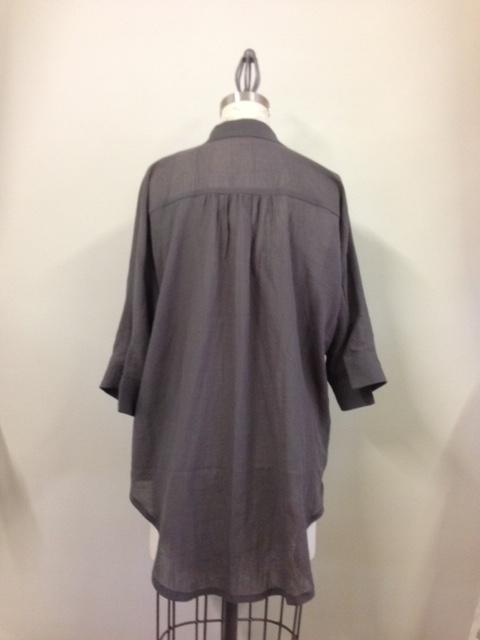 Basics shirt - back, crinkle cotton