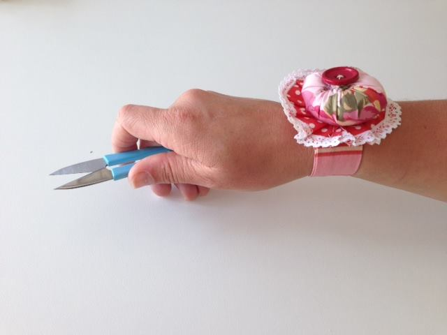 Workspace FADS wrist pincushion