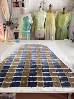 Workspace FADS maxi print fabric