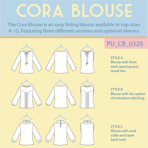 Cora Blouse cover