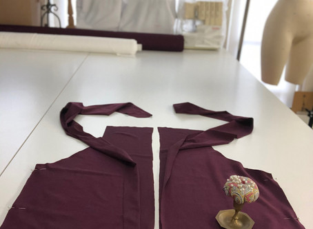 The Corona Lounge suit. Part 5: sewing the top.