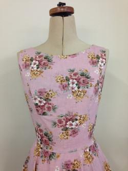 Musk flowers retro dress