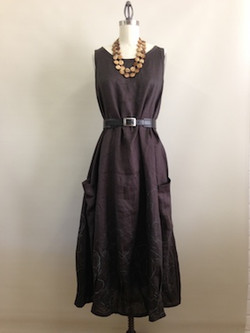 Peony dress full length