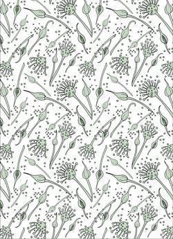 Fabric repeat design