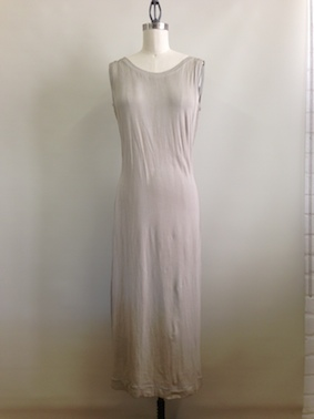 slip dress - back