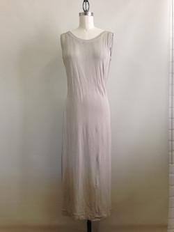 slip dress - back