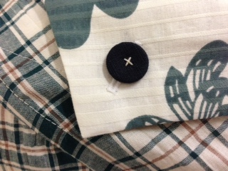 retro dress collar detail