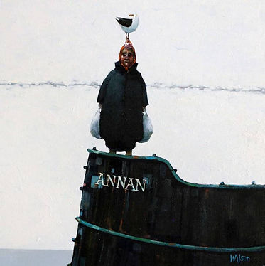 'Annan Biddy & Bird' Oil, £895