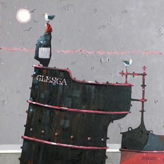 Glesga' Burds Oil 30x30cm 61x61cm Web.jp