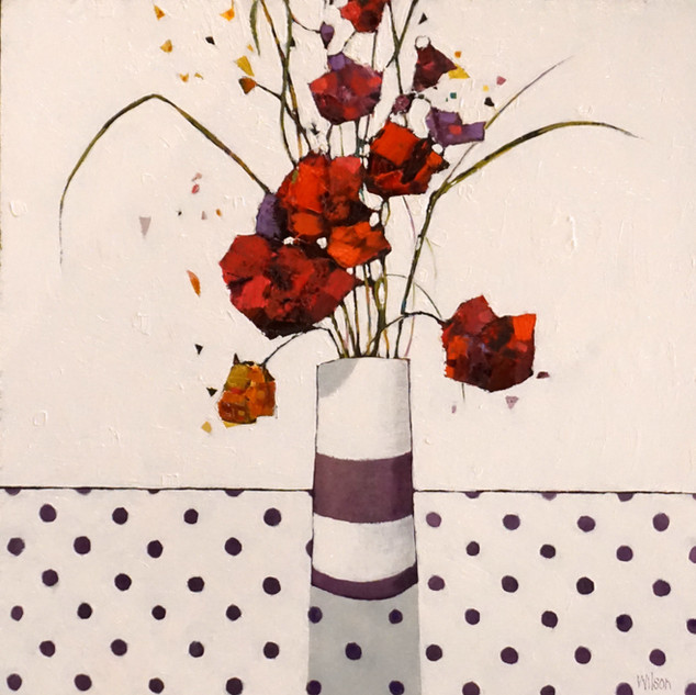 The St Valentines Arrangement 30x30cm 61