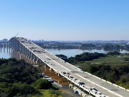 DNIT antecipa liberação da nova ponte sobre o rio Guaíba, em Porto Alegre