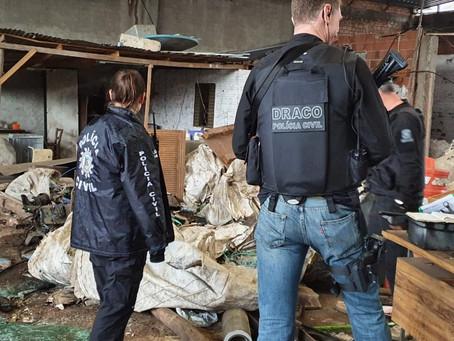 DRACO de Lajeado prende quadrilha especializada em furtos de caminhões