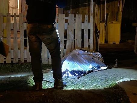 Santanense é executado na frente de casa