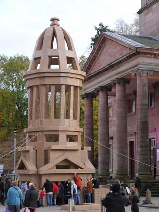 Tower sculpture - copyright Colin Cunningham