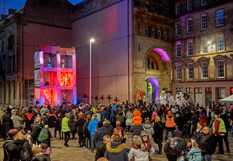 Galoshans Street Party 2018 - image copyright Dougie Coull