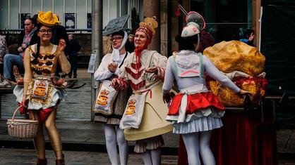 Cake costumes - copyright Colin Cunningham