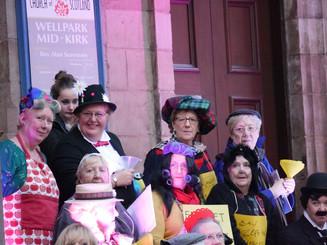 Ladies in costume - copyright Colin Cunningham