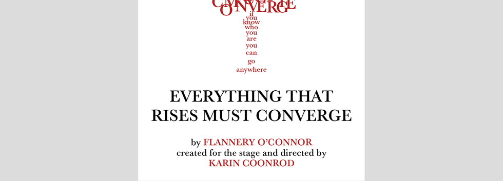 Everything That Rises Must Converge Cover Image