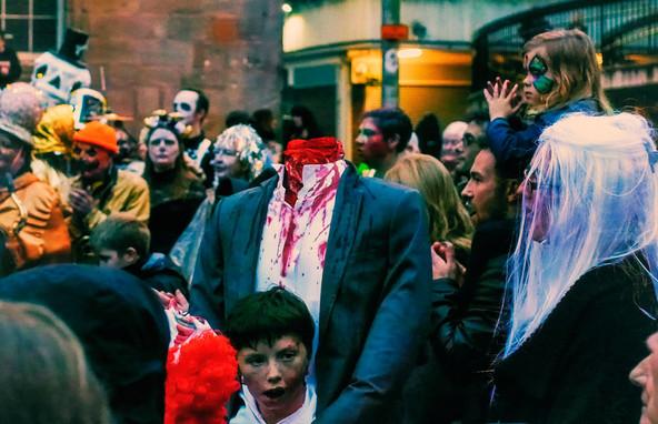 Headless costume - copyright Colin Cunningham