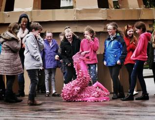 Pink performer - copyright Colin Cunningham