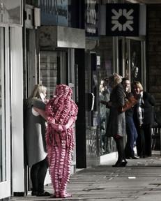 Street theatre - - copyright Colin Cunningham