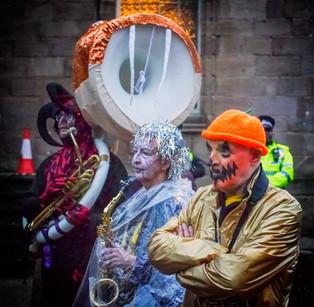 Pumpkin face - copyright Colin Cunningham