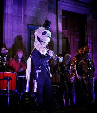 Trumpet skeleton - copyright Colin Cunningham