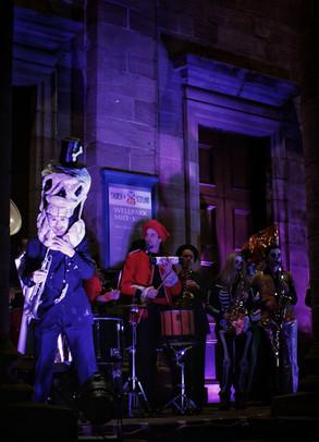 Skeleton sax - copyright Colin Cunningham