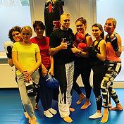 Frauen Fitness Fitnessboxen