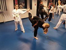 Freies Training Kampfsport
