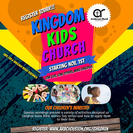 Kingdom Kids Church - Made with PosterMy