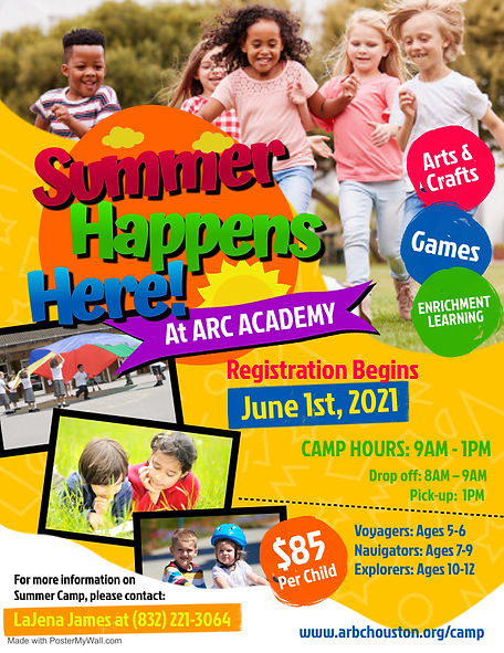 ARC Summer Camp Flyer (MOD) - Made with