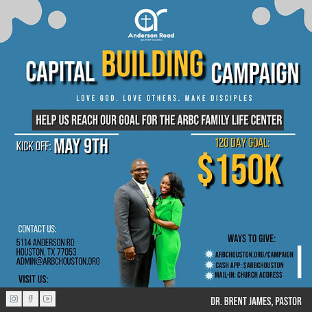 Capital Campaign Flyer - Made with Poste