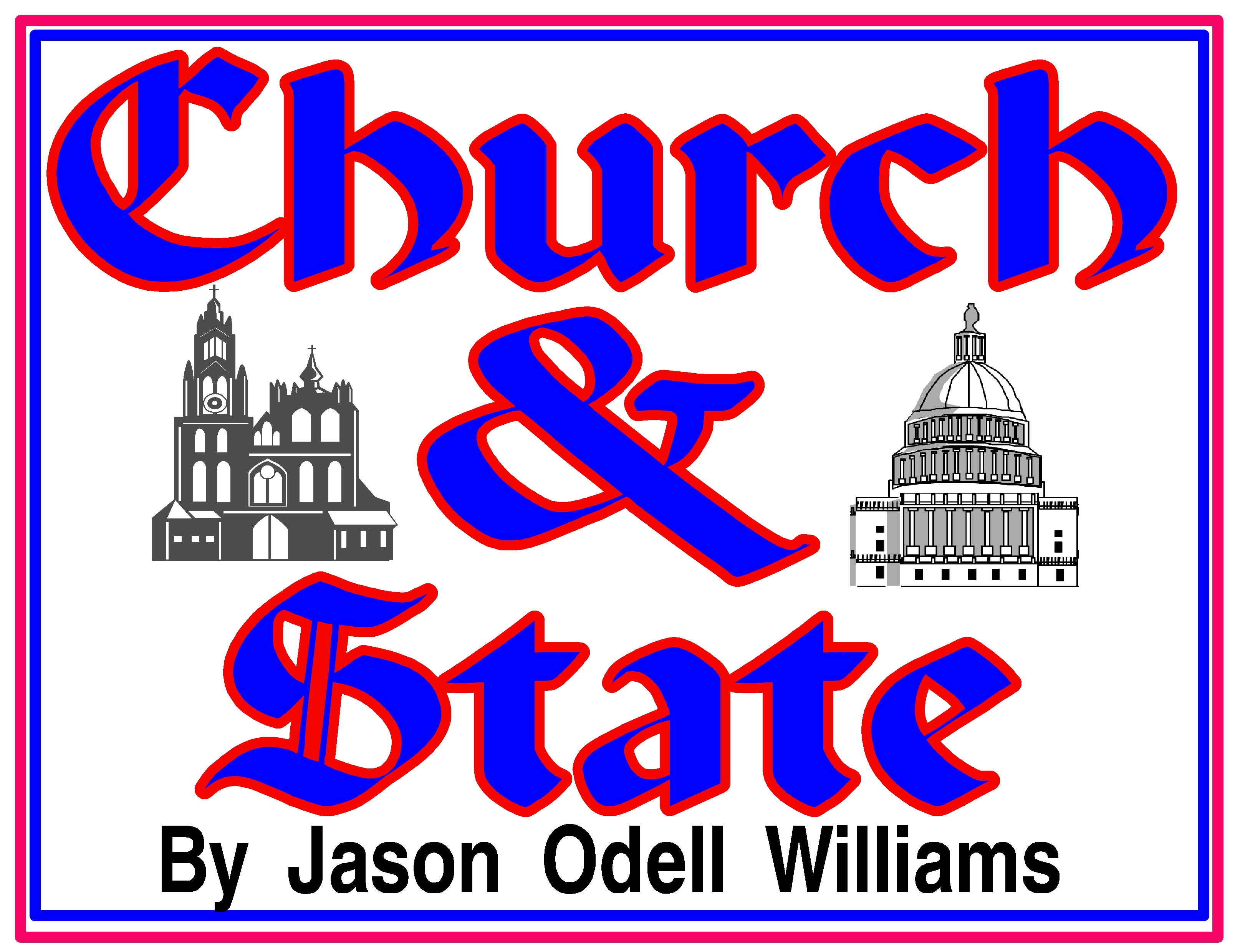 Church & State rectangle