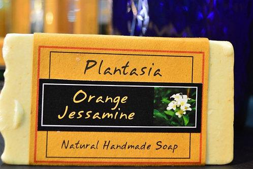 【泰好用】Plantasia 泰產手工天然肥皂-花類-茉莉柑橘 110g  5%±