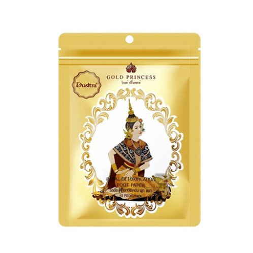【泰特產】Gold Princess 泰國皇家足貼-竹醋味