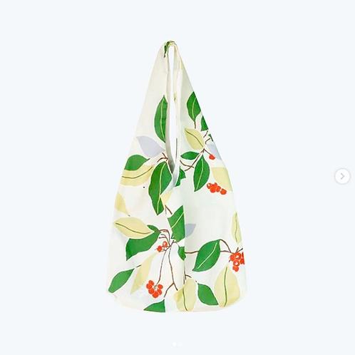 【洽圖洽】Himawari Baggu 泰國手工休閒包-綠葉山楂袋