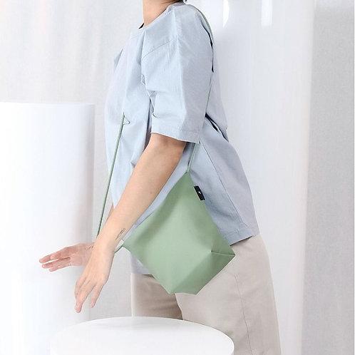 【洽圖洽】Rust Brand 泰國手工人工皮袋-水桶包-迷霧玉