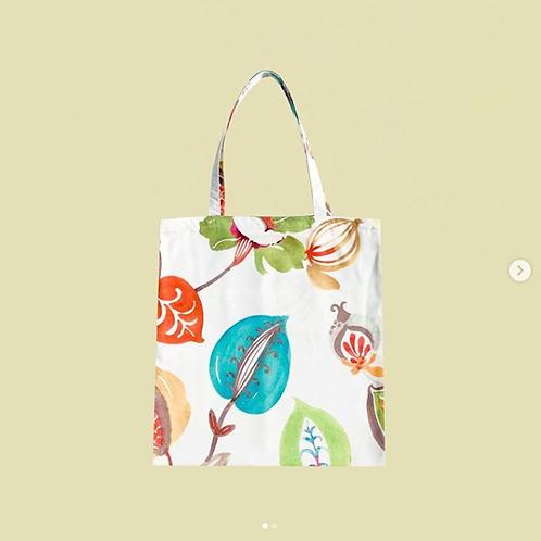 【洽圖洽】Himawari Baggu 泰國手工休閒包-絢麗葉片托特包