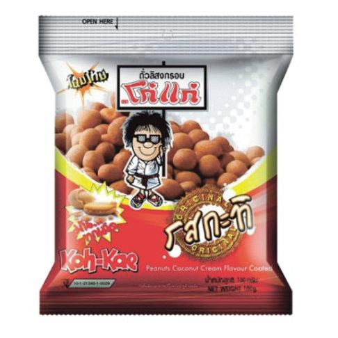 泰小食-Koh Kae 老大哥花生 經典原味- 80g