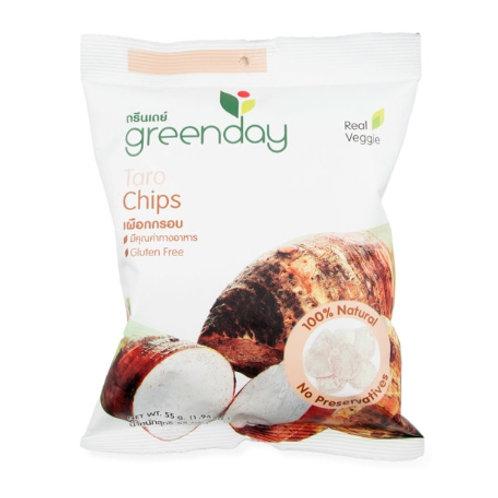 泰國必買 Greenday凍脆蔬果乾-芋頭 55g