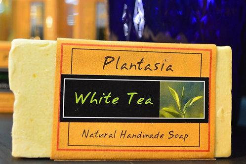 【泰好用】Plantasia 泰產手工天然肥皂-花類-白茶 110g  5%±