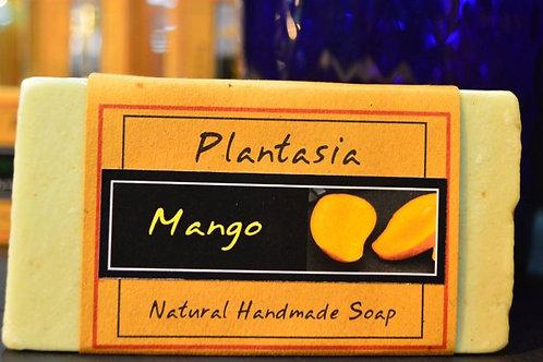 【泰好用】Plantasia 泰產手工天然肥皂-食材類-芒果110g  5%±