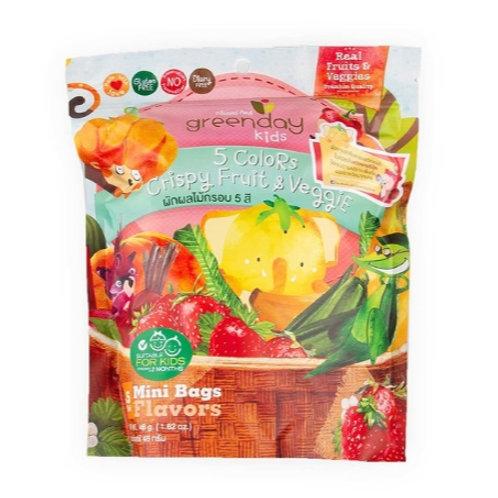 泰國必買 Greenday凍脆蔬果乾-五色蔬果 46g