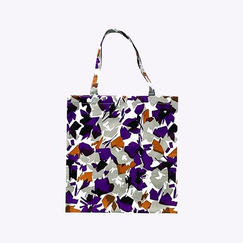 【洽圖洽】Himawari Baggu 泰國手工休閒包-灰紫水晶托特包
