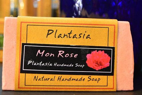 【泰好用】Plantasia 泰產手工天然肥皂-花類-玫瑰 110g  5%±