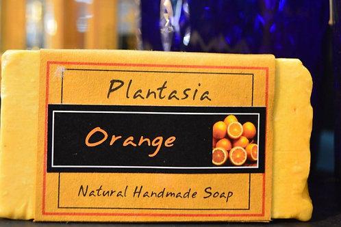 【泰好用】Plantasia 泰產手工天然肥皂-食材類-橘子 110g  5%±