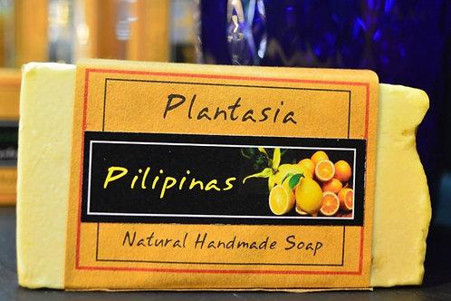 【泰好用】Plantasia 泰產手工天然肥皂-食材類-四季柑 110g  5%±