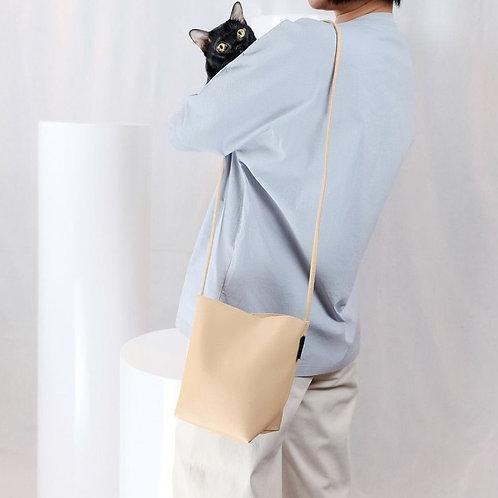 【洽圖洽】Rust Brand 泰國手工人工皮袋-水桶包-冬小麥色