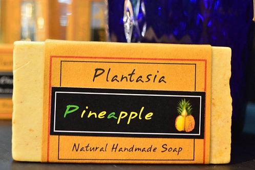 【泰好用】Plantasia 泰產手工天然肥皂-食材類-鳳梨 110g  5%±